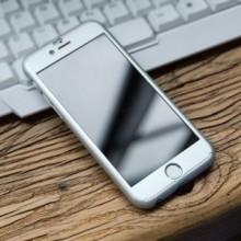 Husa Apple iPhone 8 Plus, FullBody Elegance Luxury iPaky Argintiu, acoperire completa 360 grade cu folie de sticla gratis