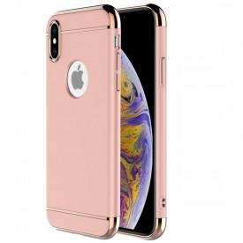 Husa Apple iPhone X, Elegance Luxury 3in1 Rose-Gold