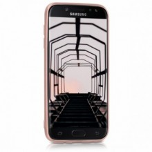 Husa Samsung Galaxy J7 2017, slim antisoc Rose-Gold