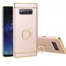Husa Samsung Galaxy Note 8, Elegance Luxury 3in1 Ring Gold
