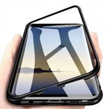 Husa Samsung Galaxy S8 , Magnetica Negru, MyStyle Perfect Fit cu spate de sticla securizata premium