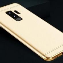 Husa Samsung Galaxy S9, Elegance Luxury 3in1 Auriu