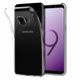 Husa Samsung Galaxy S9 Plus, TPU slim transparent