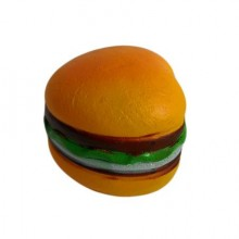 Jucarie Squishy cu revenire lenta in forma de hamburger inimioara