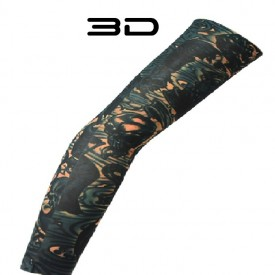 Maneca tatuata 3D Print - Imita un tatuaj real 100% - Body art tattoo maneca V2