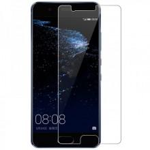 Pachet husa Elegance Luxury Mesh Black pentru Huawei P10 Lite cu folie de protectie gratis