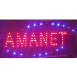 Reclama Text LED - Amanet / animatie luminoasa dinamica NOU