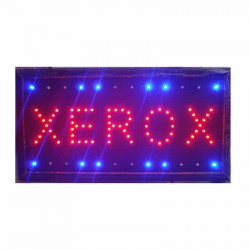 Reclama Text LED - Xerox/ animatie luminoasa dinamica NOU