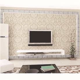 Set Oglinzi Design Versace - Oglinzi Decorative Acrilice Silver Plated - MyStyle Luxury Home 10 bucati/set