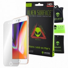 Folie Alien Surface HD, Apple iPhone 8 Plus, protectie ecran + Alien Fiber cadou