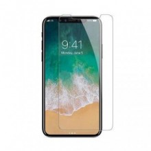 Folie de sticla case friendly Apple iPhone XS transparenta