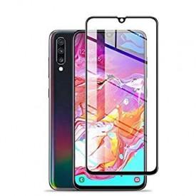 Folie de sticla Samsung Galaxy A70, 5D FULL GLUE Negru