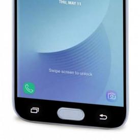 Folie de sticla Samsung Galaxy J7 2017, Elegance Luxury margini colorate Black