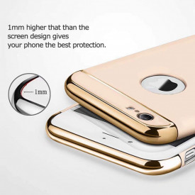 Husa Apple iPhone 6/6S , Elegance Luxury 3in1 Ring Gold