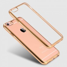 Husa Apple iPhone 6 Plus/6S Plus, Elegance Luxury placata Auriu (ELECTROPLATING GOLD)