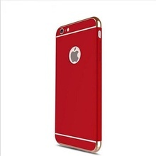 Husa Apple iPhone 7, Elegance Luxury 3in1 Red