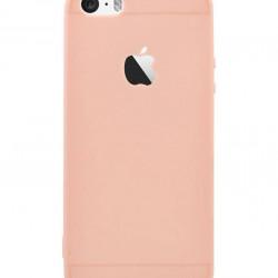 Husa Apple iPhone 7, Elegance Luxury Rose-Gold, Silicon TPU Antisoc cu decupaj logo