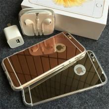 Husa Apple iPhone 7, Elegance Luxury tip oglinda Gold