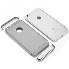 Husa Apple iPhone 8 Plus, Elegance Luxury 3in1 Argintiu