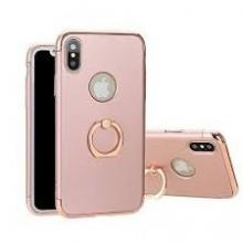 Husa Apple iPhone X, Elegance Luxury 3in1 Ring Rose-Gold