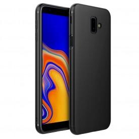 Husa pentru Samsung Galaxy J6 Plus , MyStyle Perfect Fit , Silicon TPU Negru