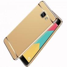 Husa Samsung Galaxy A5 2017, Elegance Luxury 3in1 Auriu