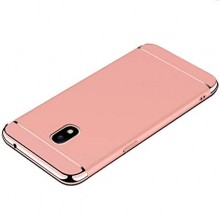 Husa Samsung Galaxy J3 2017, Elegance Luxury 3in1 Rose-Gold