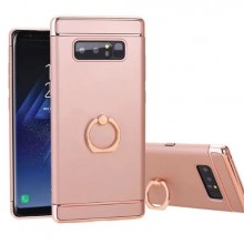 Husa Samsung Galaxy Note 8, Elegance Luxury 3in1 Ring Rose-Gold