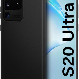 Husa Samsung Galaxy S20 Ultra, slim antisoc Negru