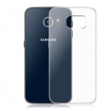 Husa Samsung Galaxy S6 Edge, Elegance Luxury slim din plastic tare transparent