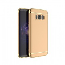Husa Samsung Galaxy S8 Plus, Elegance Luxury 3in1 Gold