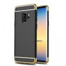 Husa Samsung Galaxy S9, Elegance Luxury 3in1 Negru
