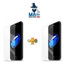 Pachet 2 folii de sticla Apple iPhone 6 Plus / 6S Plus, Case Friendly Transparent