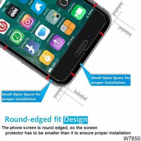 Pachet husa Elegance Luxury tip oglinda Silver pentru Apple Iphone 6 / Apple Iphone 6S cu folie de sticla gratis !