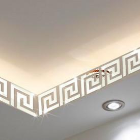 Set Oglinzi Design Versace - Oglinzi Decorative Acrilice Silver Plated - Luxury Home 10 bucati/set