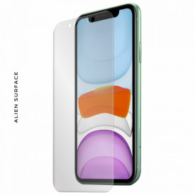 FOLIE ALIEN SURFACE HD, Apple iPhone 11, PROTECTIE ECRAN + ALIEN FIBER CADOU