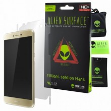 Folie Alien Surface HD, Huawei P9 Lite 2017, protectie spate, laterale + Alien Fiber cadou