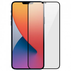 Folie de sticla Apple iPhone 12 PRO MAX, 5D Negru