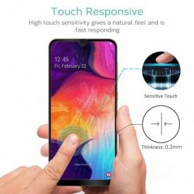 Folie de sticla Samsung Galaxy A20e, 5D FULL GLUE Negru