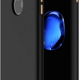 Husa Apple iPhone 6 Plus/6S Plus, Elegance Luxury 3in1 Black