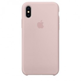 Husa Apple iPhone X, Silicon antisoc, Roz / Pink Sand