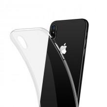 Husa Apple iPhone X, TPU slim transparent
