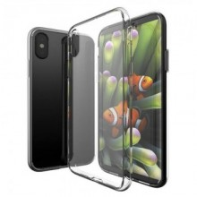 Husa Apple iPhone XS, Elegance Luxury Silicon TPU slim Transparenta