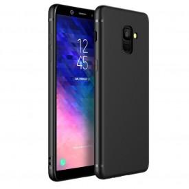 Husa pentru Samsung Galaxy A6 , MyStyle Perfect Fit , Silicon TPU Negru