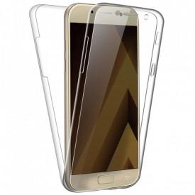 Husa Samsung Galaxy A5 2017, FullBody Elegance Luxury 360º ultra slim silicon TPU, acoperire fata spate
