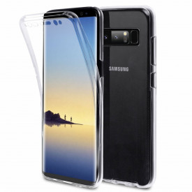 Husa Samsung Galaxy Note 8, FullBody Elegance Luxury 360º ultra slim Silicon TPU, acoperire fata spate