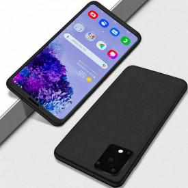 Husa Samsung Galaxy S20 Plus, FullBody Elegance Luxury Negru, acoperire completa 360 grade cu folie de protectie gratis
