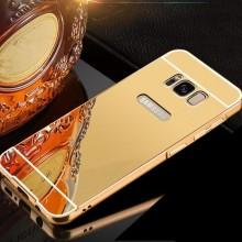 Husa Samsung Galaxy S8, Elegance Luxury tip oglinda Gold