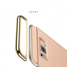 Husa Samsung Galaxy S8 Plus, Elegance Luxury 3in1 Auriu
