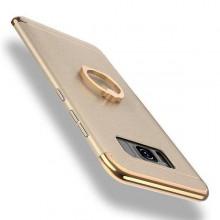 Husa Samsung Galaxy S8 Plus, Elegance Luxury 3in1 Ring Auriu